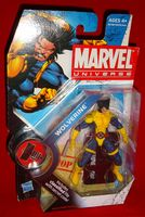 Marvel Universe Series 2 #2: X-Men Wolverine (Unmasked) - Action Figure Sealed on Card